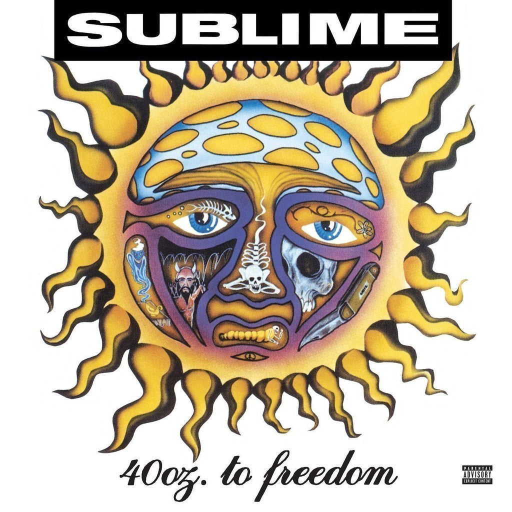 Sublime - 40oz To Freedom Album Cover