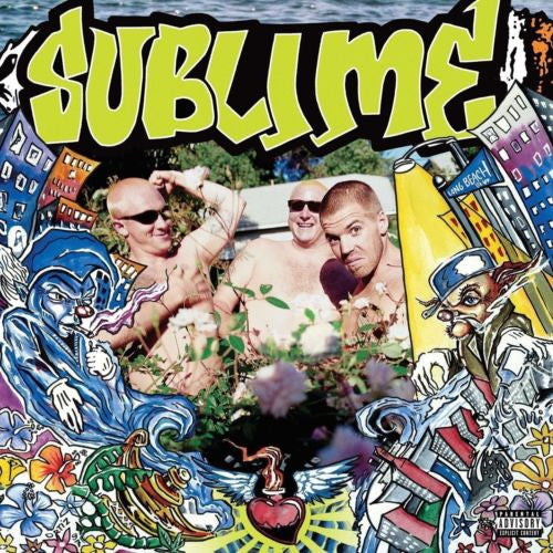 Sublime - Second-Hand Smoke Album Cover