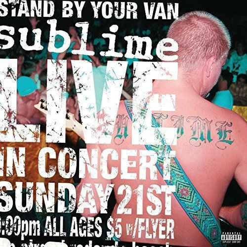 Sublime - Stand By Your Van Live Album Cover