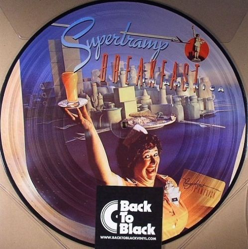 Supertramp - Breakfast In America (Picture Vinyl) Album Cover