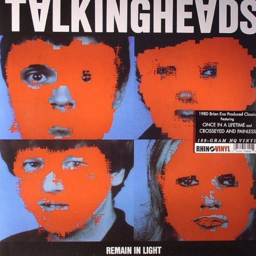 Talking Heads - Remain In Light Album Cover