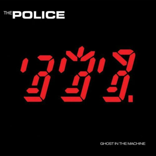 The Police - Ghost In The Machine Album Cover