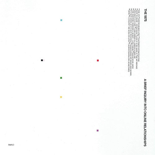The 1975 - A Brief Inquiry Into Online Relationships Album Cover