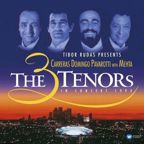 The 3 Tenors - The 3 Tenors In Concert 1994 Album Cover