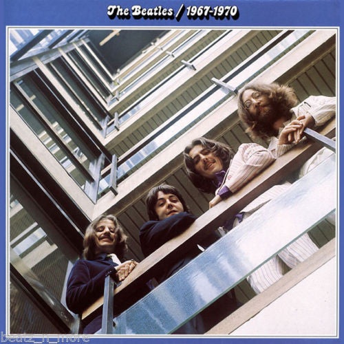 The Beatles - 1967-1970 Blue Album Cover