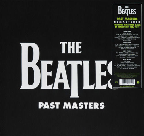 The Beatles - Past Masters Album Cover