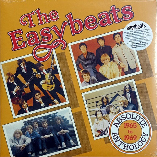 The Easybeats - Absolute Anthology 1965 to 1969 Album Cover