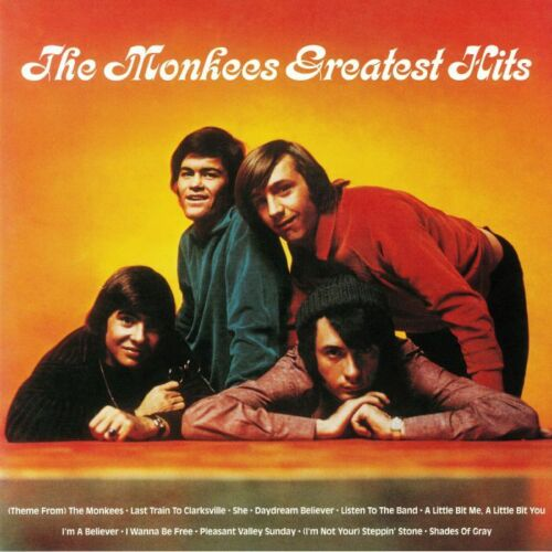 The Monkees - The Monkees Greatest Hits Album Cover