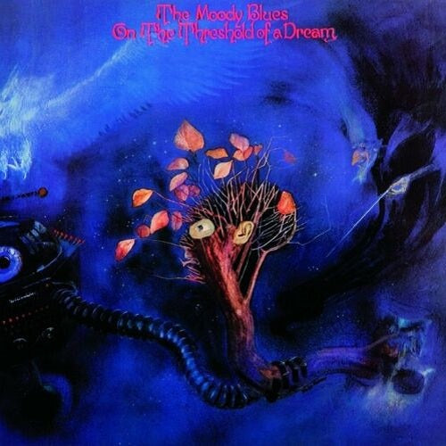 The Moody Blues - On The Threshold Of A Dream Album Cover