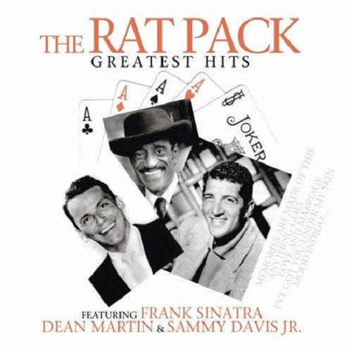 The Rat Pack - Greatest Hits Album Cover