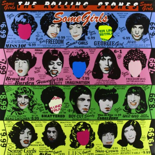 The Rolling Stones - Some Girls Album Cover