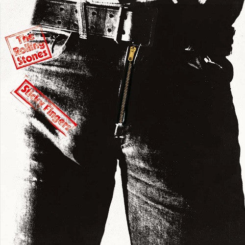 The Rolling Stones - Sticky Fingers Album Cover