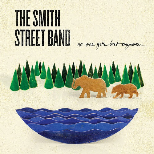 The Smith Street Band - No One Gets Lost Anymore Album Cover