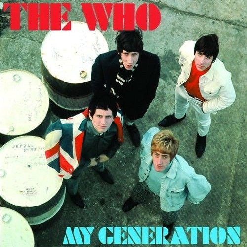 The Who - My Generation Album Cover