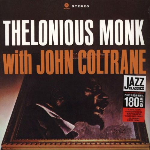 Thelonious Monk - Thelonious Monk with John Coltrane Album Cover