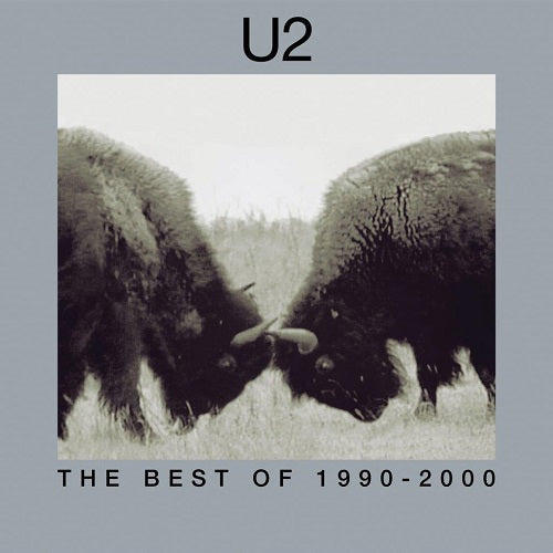 U2 - The Best Of 1990-2000 Album Cover