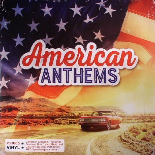 Various Artists - American Anthems Album Cover