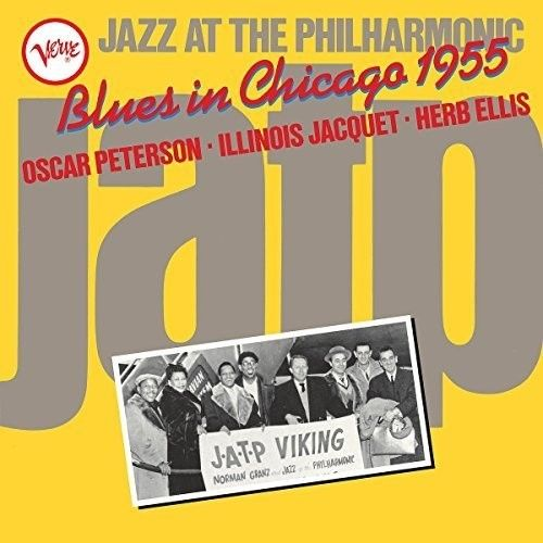 Various Artists - Blues In Chicago 1955: Jazz At The Philharmonic Album Cover