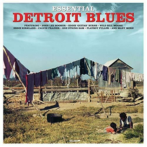 Various Artists - Essential Detroit Blues Album Cover