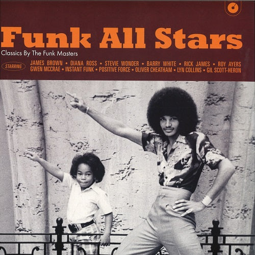 Various Artists - Funk All Stars Album Cover