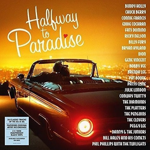 Various Artists - Halfway To Paradise Album Cover
