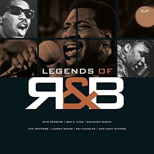 Various Artists - Legends Of R&B Album Cover