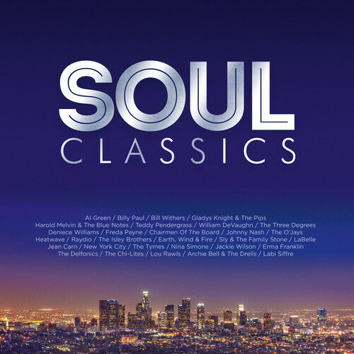 Various Artists - Soul Classics Album Cover