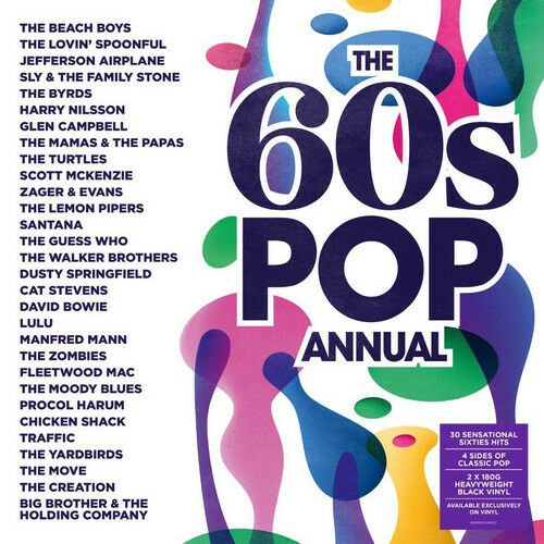 Various Artists - The 60s Pop Annual Album Cover