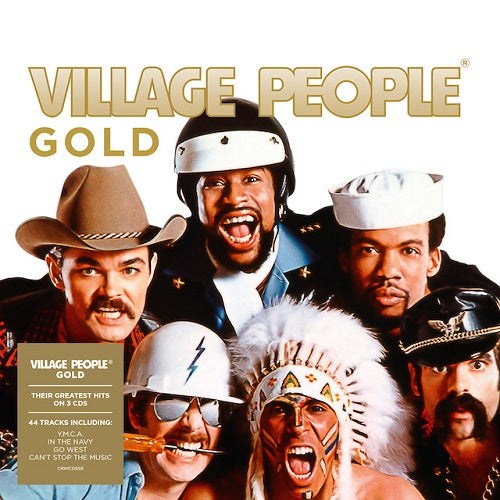 Village People - Gold Album Cover