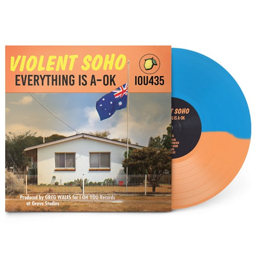Violent Soho - Everything Is A-Ok Half & Half Vinyl