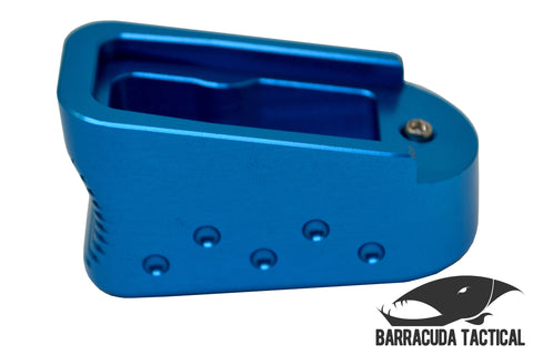 Glock 43 Magazine Extension +2 Blue