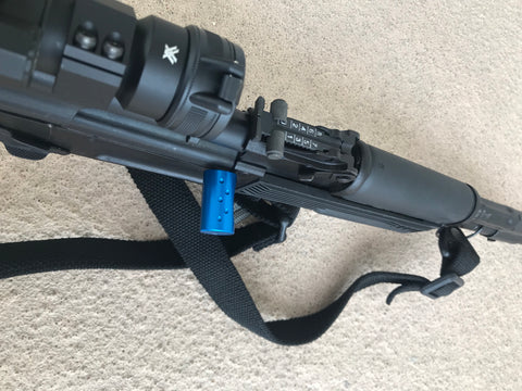 AK 47/74 Charging Handle Extension in Blue