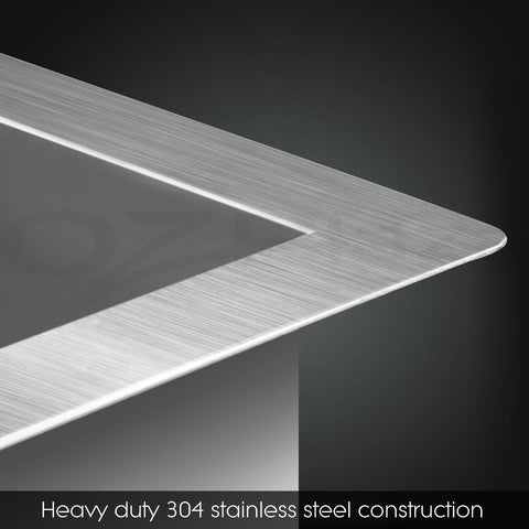 Sink Double Bowl 68L Deluxe