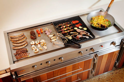 Barbeque A Gourmet 1360 Infresco Hotplate, Open Cast Grill & Wok