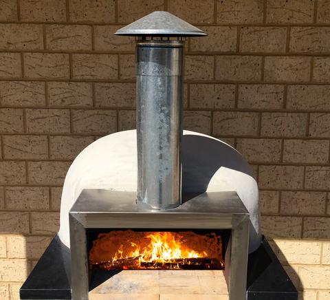 Pizza Oven Piccolo Wood fired Pre-Built