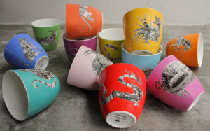 Zodiac Teacups - Please order directly from Faux.