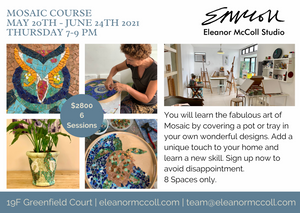Mosaic Course; 20th May - 24th June 2021