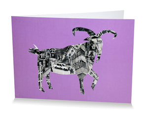 Card: Goat In Hong Kong