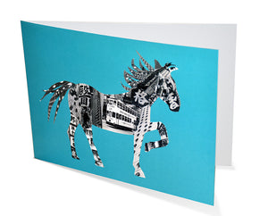 Card: Horse In Hong Kong