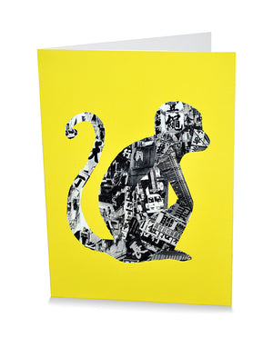 Card: Monkey In Hong Kong