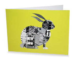 Card: Rabbit In Hong Kong