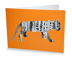 Card: Tiger In Hong Kong