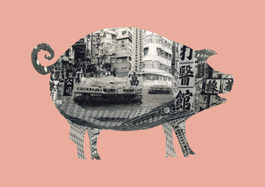 Pig In Hong Kong