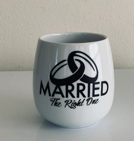 Married The Right One Coffee Mug