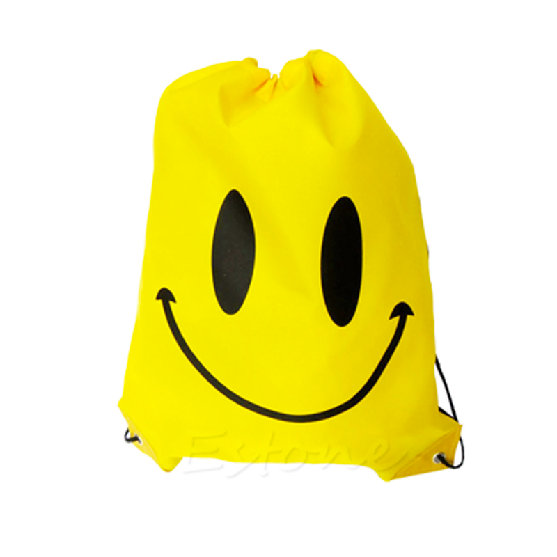 Bolsa Morral Smiley Amarillo