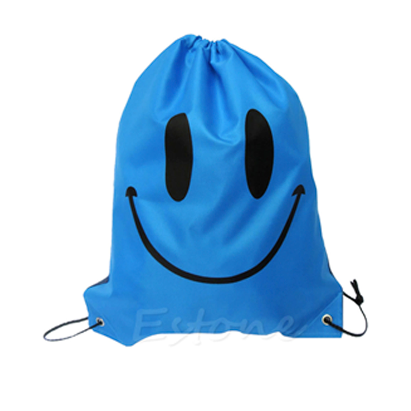Bolsa Morral Smiley Azul