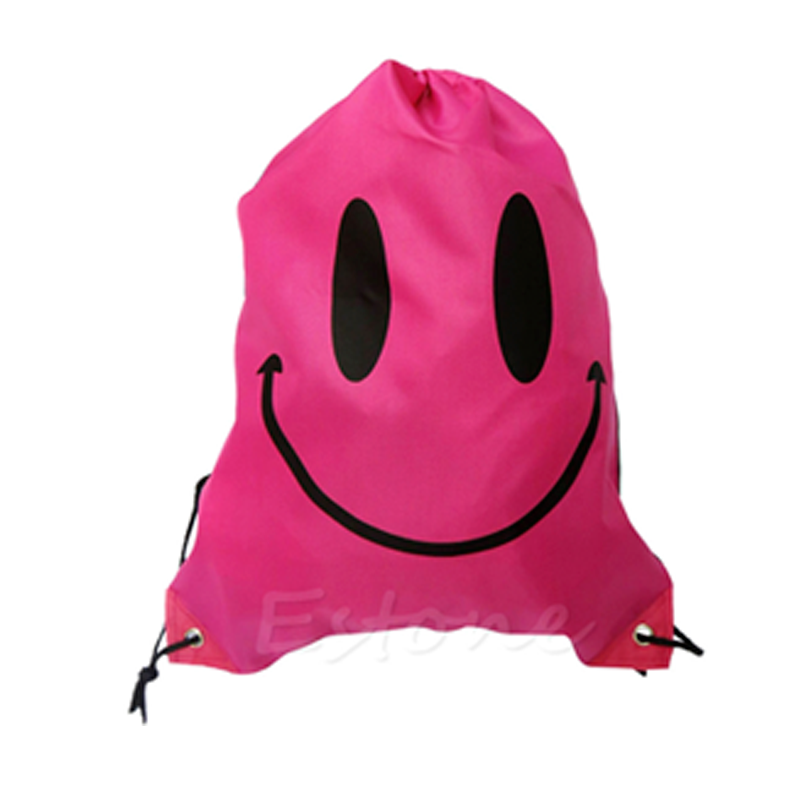 Bolsa Morral Smiley Rosa