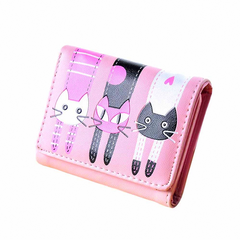 Cartera Gatos - Rosa