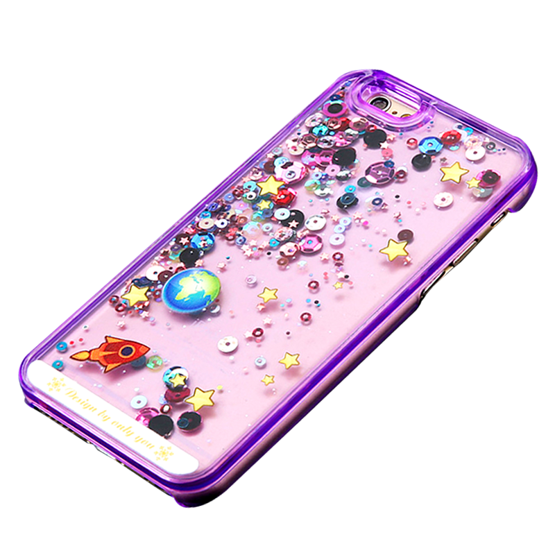 iPhone Case Galaxy Morado