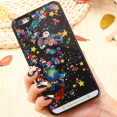 iPhone Case Galaxy Negro